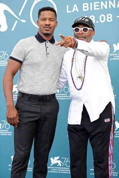 099998 American Skin Photocall - The 76th Venice Film Festival - Nate Parker_ Spike Lee
