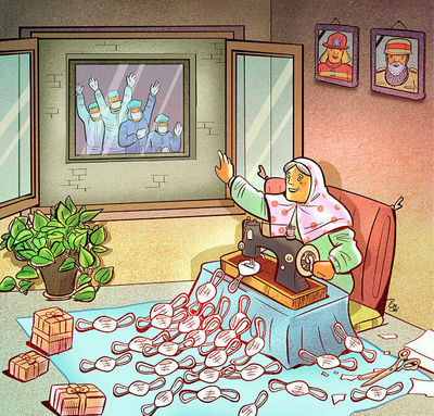 Cartoons can help convey tips for dealing with coronavirus: artist