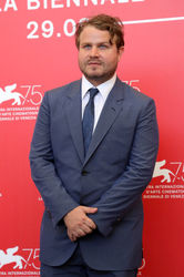 09995 Brady Corbet attends _Vox Lux_ photocall during the 75th Venice Film Festival