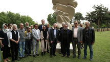 """""""Roots and Stones"""", a gift from Tony Cragg, unveiled at TMCA"""