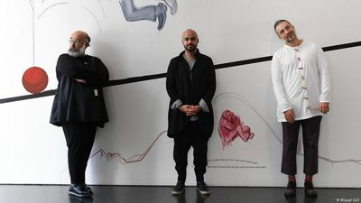 Iranain artist collective on show for first time in Germany