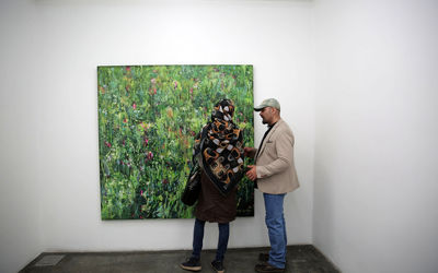Dariush Hosseini Painting Exhibition in O Gallery