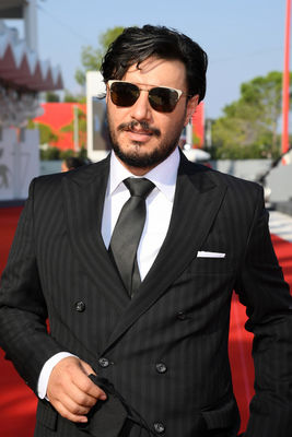 091 Javad Ezzati walks the red carpet ahead of the movie Khorshid (Sun Children) at the 77th Venice Film Festival on September 06_ 2020 in Venice_ Italy.3