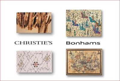 The negative effect of corona on the art economy of Middle East/Declining on sales of Iranian works in two Christie's and Bonhams sales