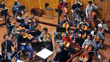 Iran's National Orchestra Rehearsal in Roudaki Hall
