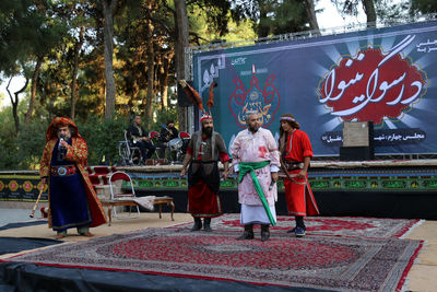 Kurosh Zarei: Tazieh and other ritual performances are considered the certificate of art and culture of Iran
