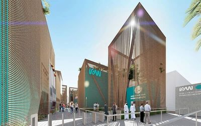 Iran Pavilion with One Thousand and One Nights at Expo 2020 Dubai