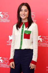 02 Marianna Fontana attends _Capri-Revolution_ photocall during the 75th Venice Film Festival