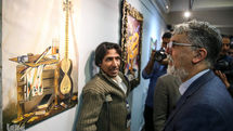 Culture Minister Visits Exhibition by Disabled Artists