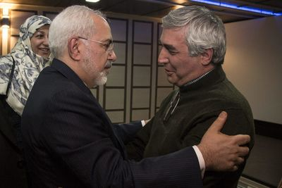 """Zarif impressed with """"At Damascus Time"""""""