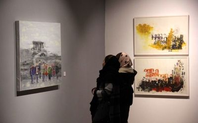 Kasraei, Shirzadi Painting Exhibit Underway at Ace Gallery