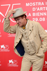 04 John C. Reilly attends _The Sisters Brothers_ photocall during the 75th Venice Film Festival