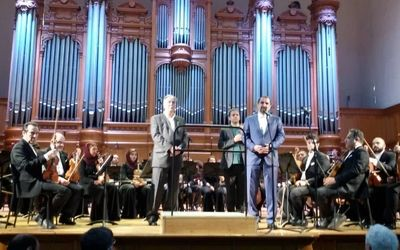 Tehran Symphony Orchestra Performs in Russia