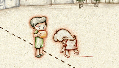"""""""This Side, Other Side"""" wins UNICEF Award at Bratislava animation biennial"""
