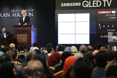 Tehran Auction 2018 sells out 120 mind-melting lots – signals flourishing market