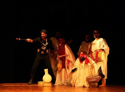 Troupes to blend Iranian ritual, Western literature for Moscow performance