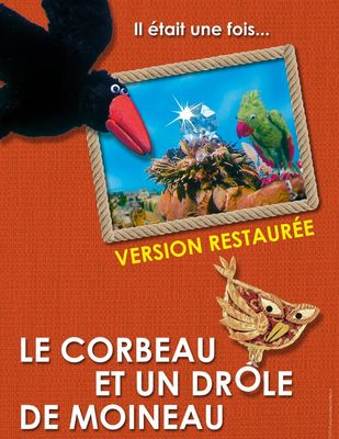 """French theaters screen IIDCYA animation """"The Crow and a Funny Sparrow"""""""