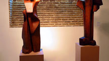 Group wood art exhibition at Aran Gallery