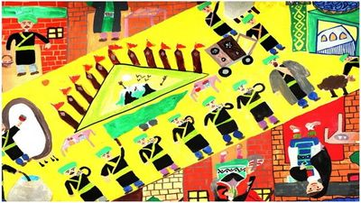 Painting exhibition on Muharram and Safar rituals opens