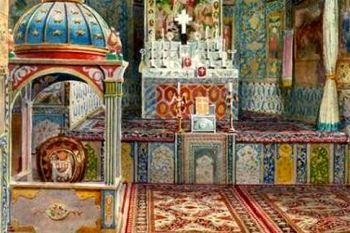 Works of Iranian-Armenian watercolor painters on display