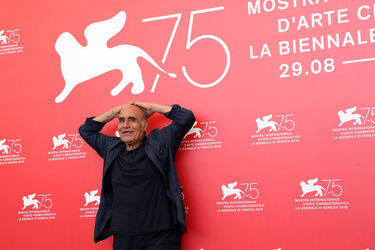 01 Directotr Amir Naderi attends Magic Lantern photocall during the 75th Venice Film Festival