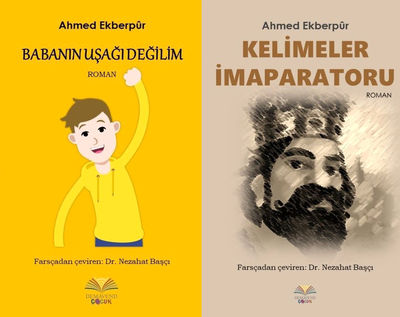 Novels by Ahmad Akbarpur published in Turkish