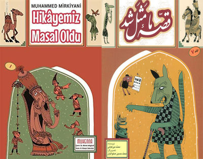 Mohammad Mirkiani's book of ancient Persian stories published in Turkish