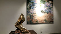 Guity Seif painting exhibition at Shirin Gallery