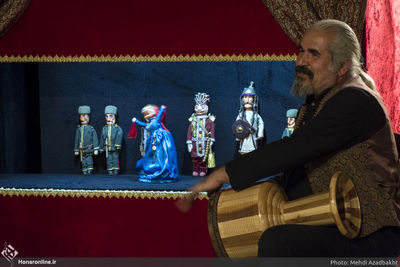 Museum opens for traditional Iranian puppet show kheimeh shab-bazi