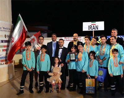 Iranian ensemble Arghavaneh honored at Bulgaria World Folk festival