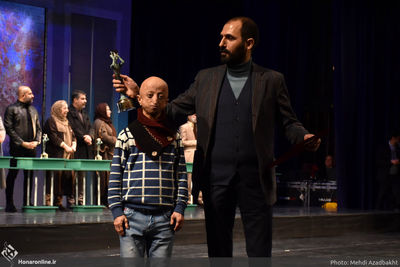 """""""The Above-Named Person"""" wins grand prize at Fajr Intl. Theater Festival"""