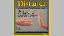 Social distancing of Iranian artists in the French virtual exhibition