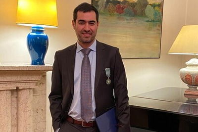 Iranian Actor Shahab Hosseini Receives France's Chevalier of Legion of Honor