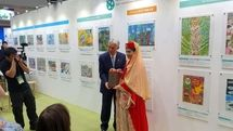 Ghazaleh Mohammadi Honored at Japanese Environment Painting Contest