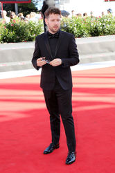 099999 Gonzalo Tobal walks the red carpet ahead of the _Acusada (The Accused)_ screening during the 75th Venice Film Festival
