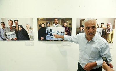 War Photographer Saeed Sadeghi Displays Modern Lives of Veterans