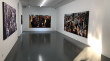 Mojtaba Tabatabaei painting exhibition at Etemad Gallery