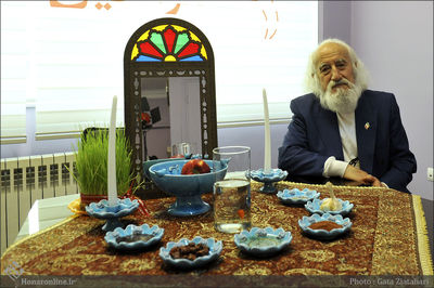 Hossein Mahjoobi talks Painting and Nowruz rituals, traditions