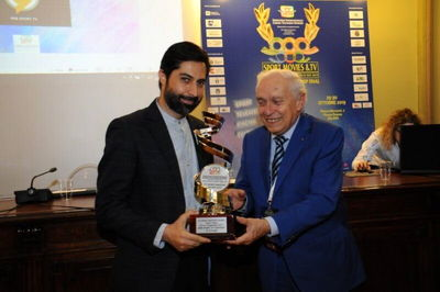 IRIB sports Channel Honored at Milano Intl. FICTS Fest