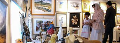 '100 Works, 100 Artists' sale continues