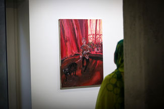 Tolou Naseri Opens Painting Exhibition