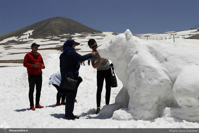 Tochal Snow and Ice Sculptural Festival announces winners