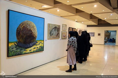 Damonfar Visual Arts Festival opens at Tehran's Mellat Cineplex