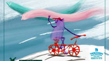 The Cycling Wind Goes to Tumbleweeds Filmfest. in US