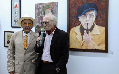 80 Years of Javad Mojabi from Artists' View