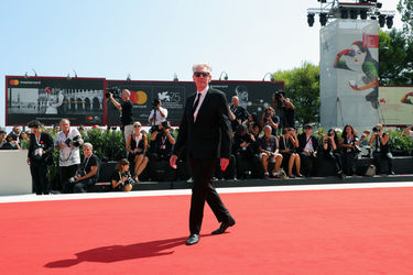 099 David Cronenberg walks the red carpet ahead of the M Butterfly And Lifetime Achievement Award To David Cronenberg ceremony during the 75th Venice Film Festival