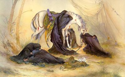 """Farshchian's """"Evening of Ashura"""" perfect expression of grief"""