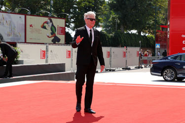 097 David Cronenberg walks the red carpet ahead of the M Butterfly And Lifetime Achievement Award To David Cronenberg ceremony during the 75th Venice Film Festival
